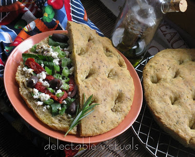easy recipe Simple Herb Focaccia bread italian