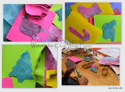 Kids Crafts: Holiday Cookiecutter Cards These simple holiday cards using .