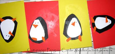 Kids Craft: Easy Paper Penguins