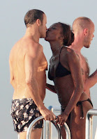 Naomi Campbell bikini pictures
