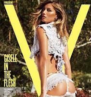 Gisele Bundchen sexy in v magazine