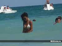 Cosmina Pasarin goala pe plaja