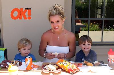 Britney Spears si copiii sai