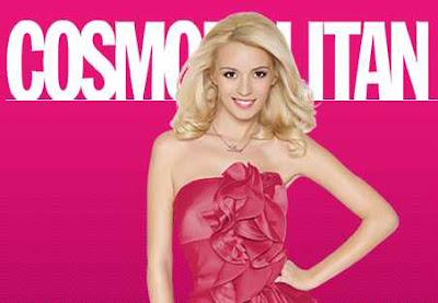 Diana Dumitrescu pe coperta Cosmopolitan