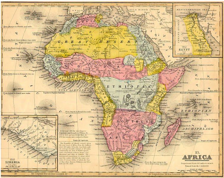 1 woche 9 tage afrika: