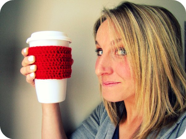 Crochet Pattern: Absolutely Easy Coffee Cup Sleeve