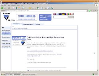 79bab2fb61559 informatique  f-secure scan en ligne