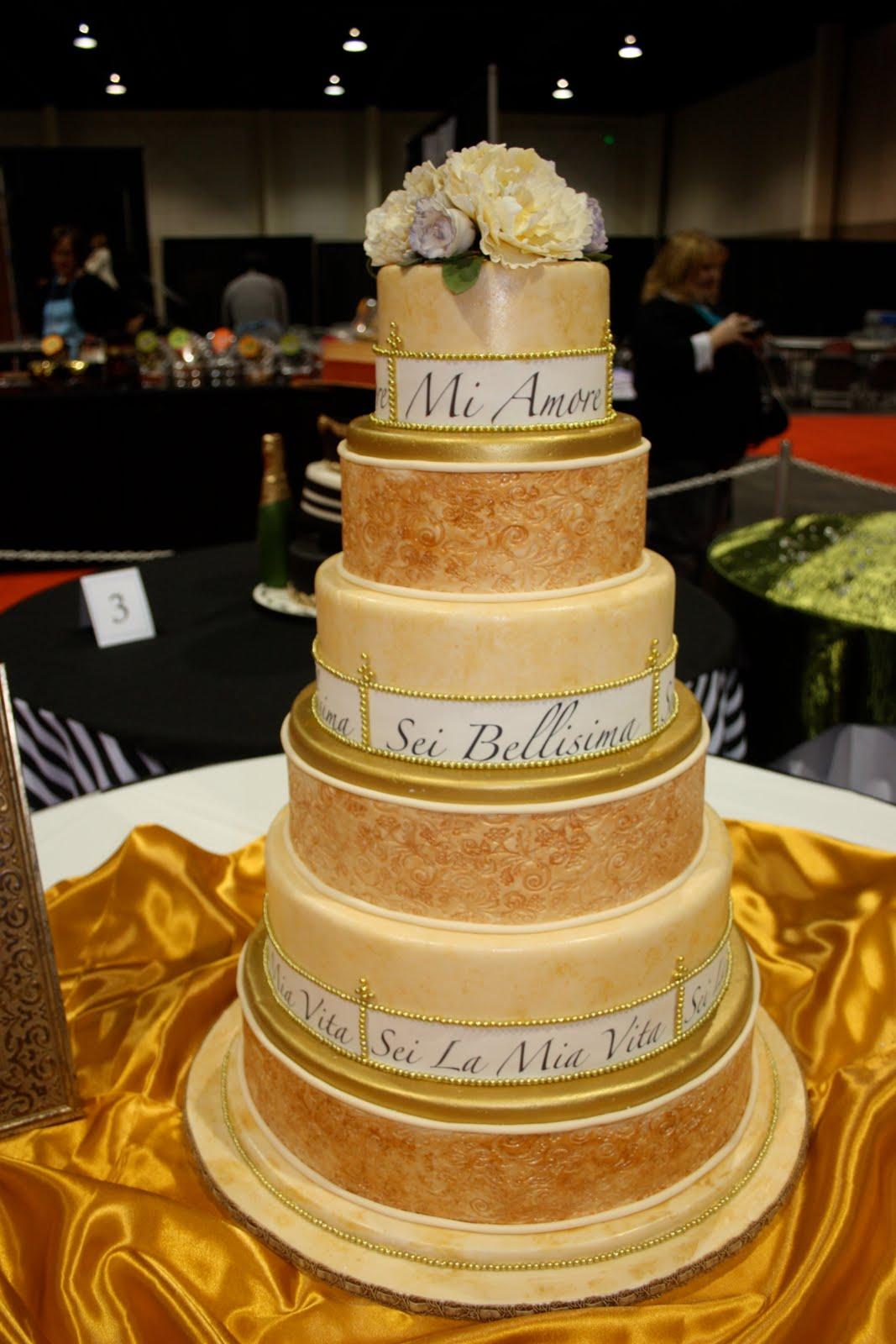 Sugar Kisses Cakes by Design: 2009 Utah Chocolate Show- Wedding Cake ...