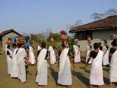 Tharu cultural Dance