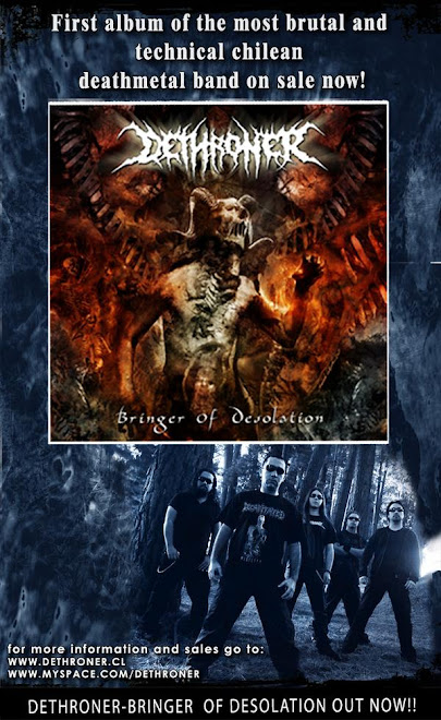 Dethroner - Bringer of Desolation (2007)