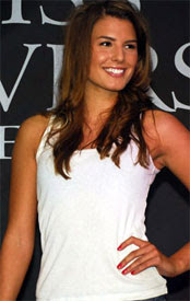 Renate Cerljen won Miss Universe Sweden 2009