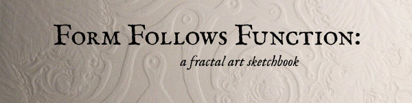 Form Follows Function: a fractal art sketchbook