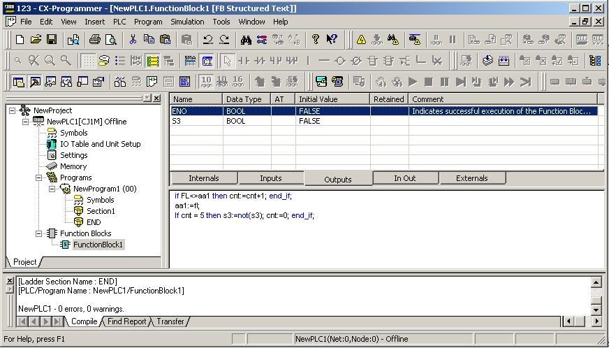 В разделах Input и Output