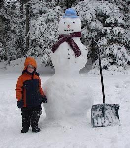 Gavin's Snowman