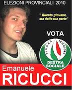 Candidato Emanuele Ricucci