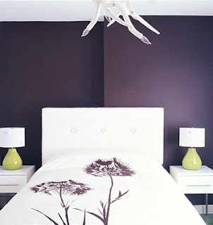 God In Design: Decorate Your Bedroom with shades of Purple