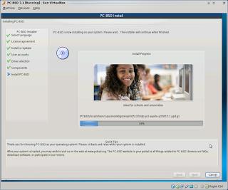 مصور لثبيت برنامج VirtualBox