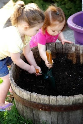 NAMC montessori cooking activities st. patrick's day children gardening