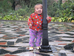 Abby G waiting in China