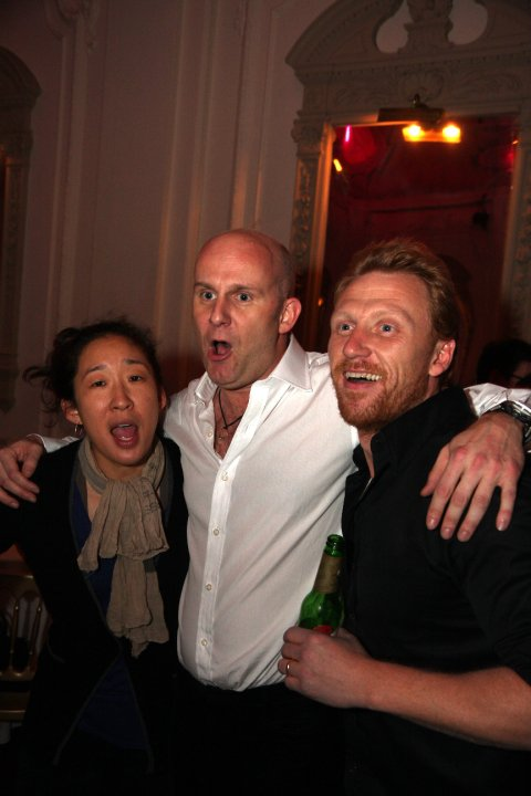 Sandra Oh  Kevin McKidd  Baby Spice And An Actor DudeKevin Mckidd And Sandra Oh