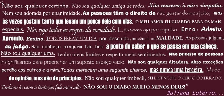 .:*:.Juliana Lotério.:*:.