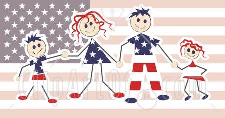 American family customs