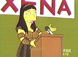 Xena nos Simpsons