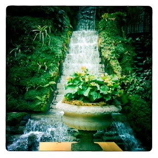 hipstamatic iPhone app waterfall Opryland Resort Nashville