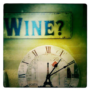 wine clock iPhone photography hipstamatic