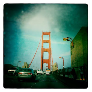 Golden Gate Bridge iPhone photography hipstamatic iphoneology