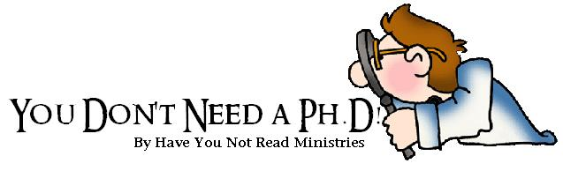 You Don't Have To Have A Ph.D.!