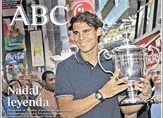 Lee el periódico en español