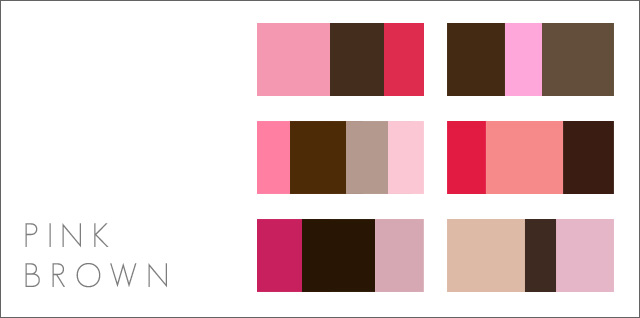 Pink Color Scheme Prepossessing Of Pink and Brown Color Scheme Photos