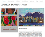 Artist Home Page - http://zahidajaffer.com