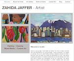 Artist Home Page - http://zahidajaffer.com