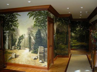 Рисунки на стена