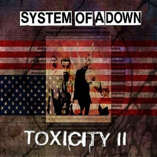 System Of A Down Toxicity Red