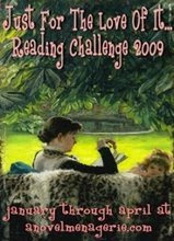FOR  THE LOVE OF IT READING CHALLENGE