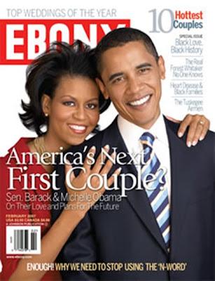Ebony Magazine: American Couple - Barack Obama and Michelle Obama