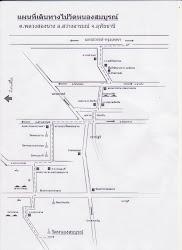 แผนที่แสดงเส้นทางวัด