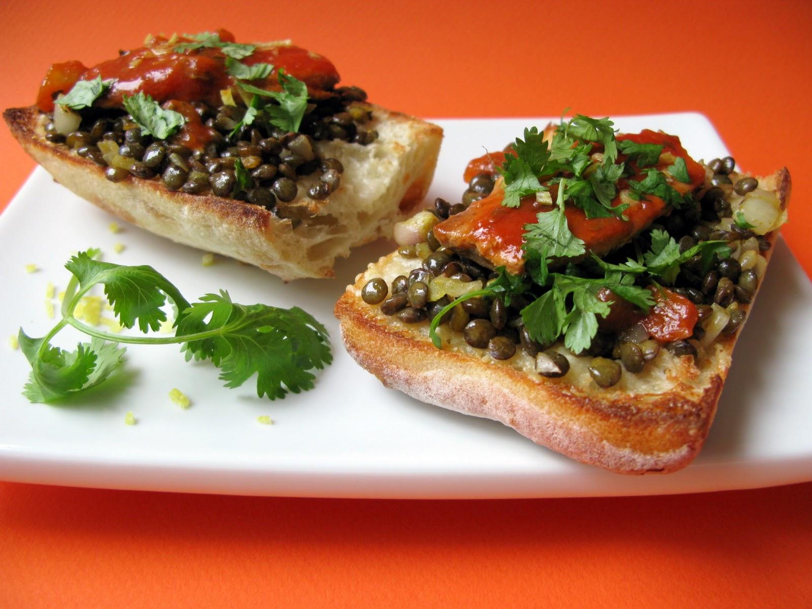 Au gr du march sardines la tomate et aux lentilles - Cuisiner des filets de sardines fraiches ...