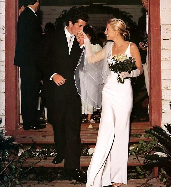 Caroline Bassett Kennedy Wedding Dress: SugarLove Weddings: August 2010