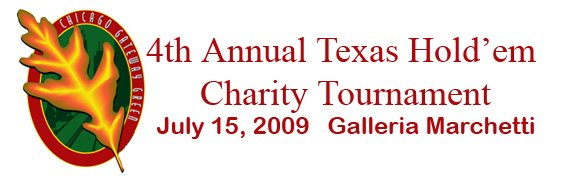 Chicago Gateway Green Texas Hold 'Em charity Tournament