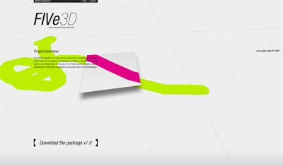 Experimental Flash / Actionscript: 3D Flash Interactive Vector-base 3D Library