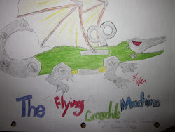 The Flying Crocodile Machine!