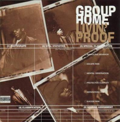 Sleep for dinner group home livin 39 proof 1995 for Classic house beats