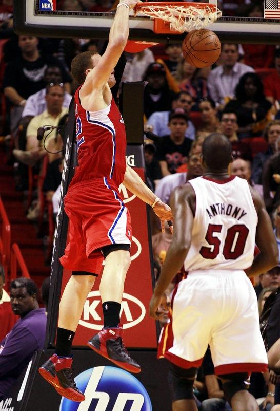 2010-2011 NBA Regular Season: Blake Griffin Dunks On Zydrunas Ilgauskas