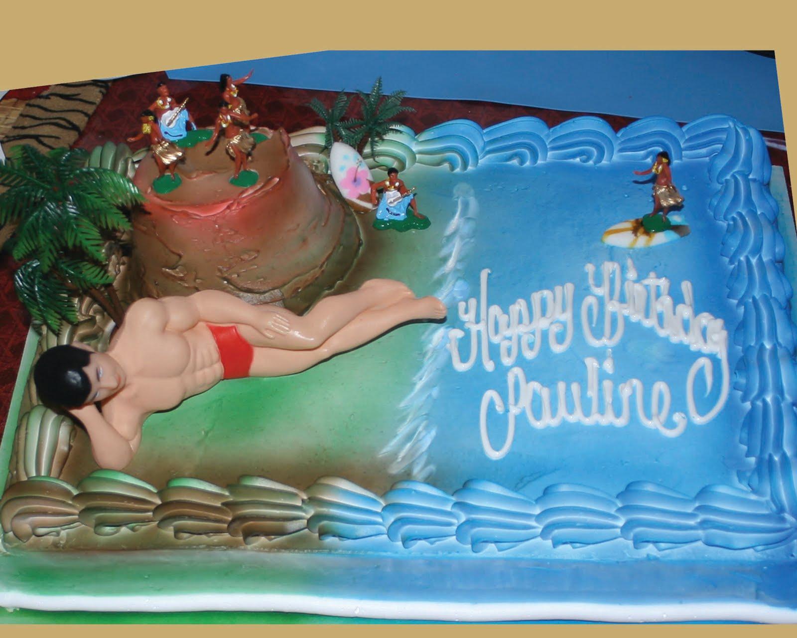 Hector s Custom Cakes Y BEACH MAN