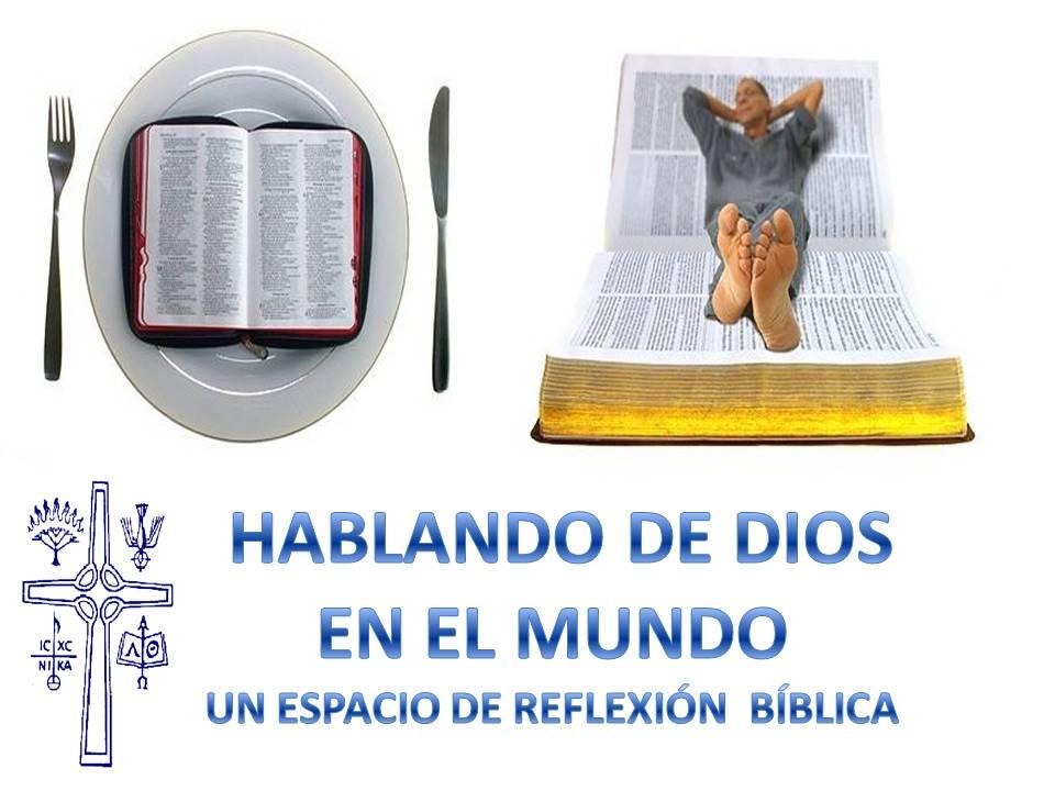 HABLANDO DE DIOS EN EL MUNDO