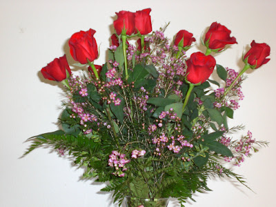 Here is what Mr Stitchjones sent yesterday for our 20th wedding anniversary